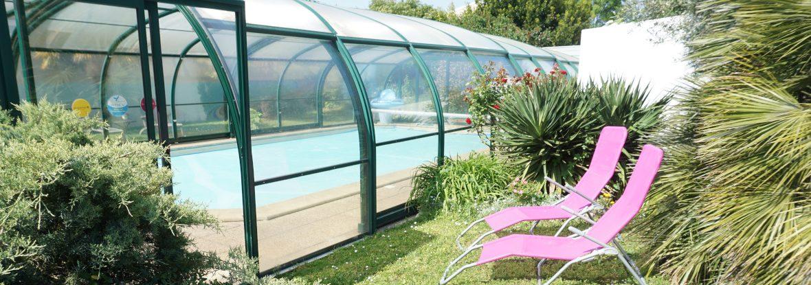 piscine couverte extérieure
